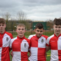 OL's players in first Warwickshire County game