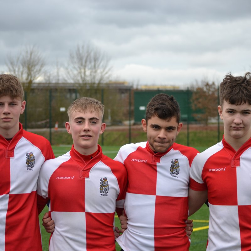 Four OL's players gain County honours representing Warwickshire U15's