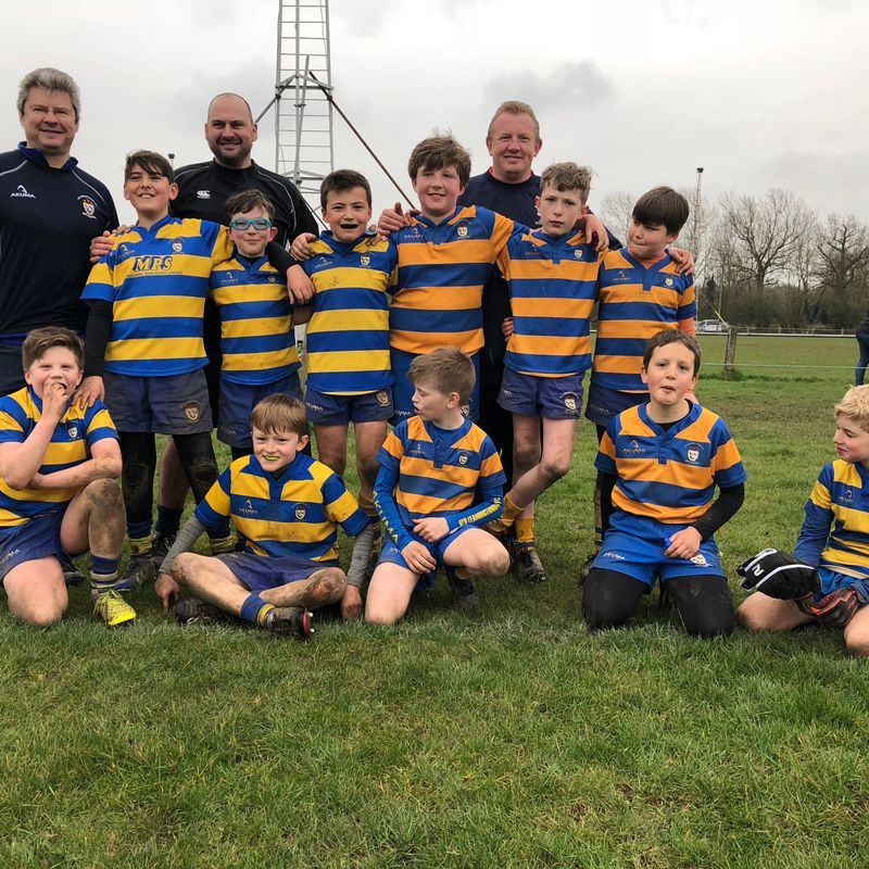 U11's win the day at Hinckley Festival