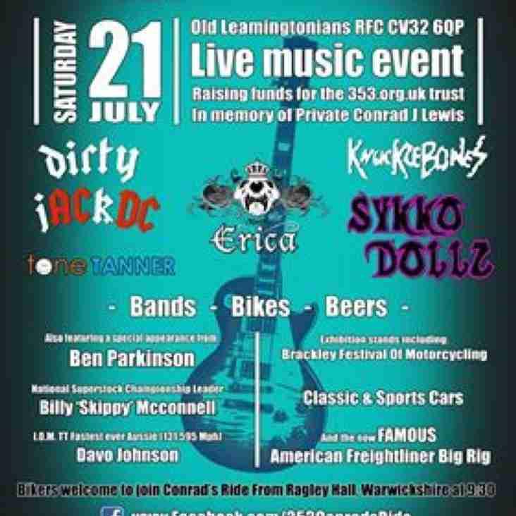 Conrad's Festival 21st July