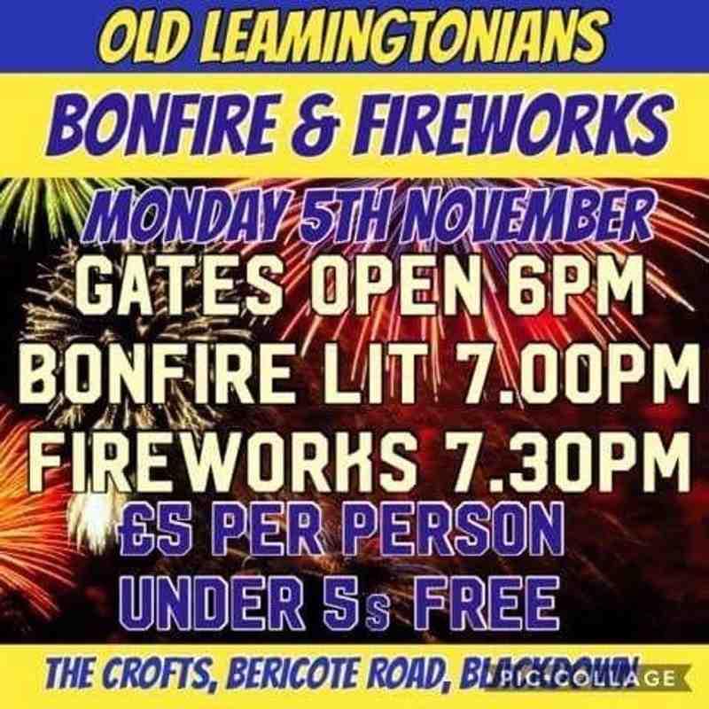 Bonfire Night at OL'S