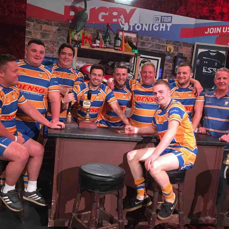 Old Leamingtonians take over BT Sport