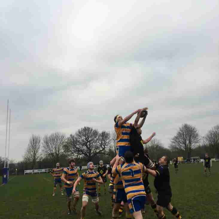Senior Mens' Match Report Saturday 5th January 2019