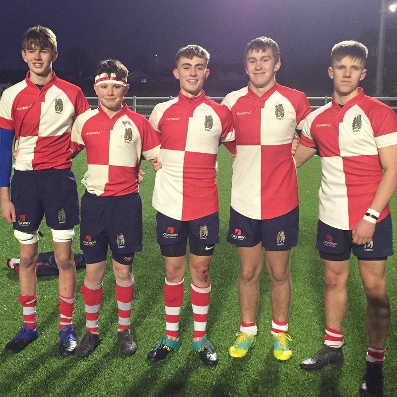 OL's U16's in Warwickshire vs Leicestershire Squad