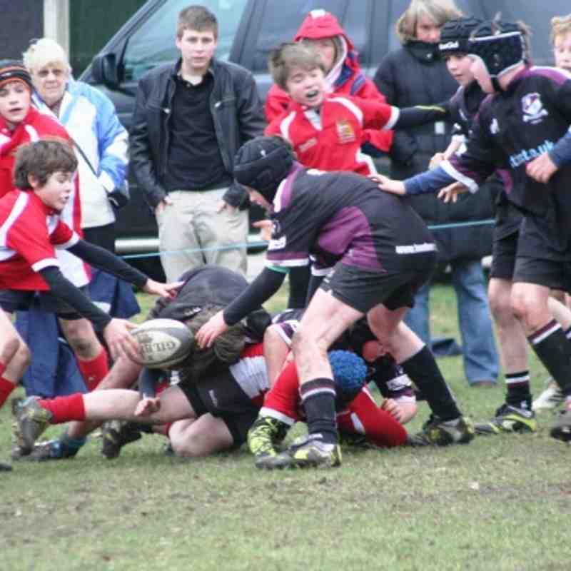 u12s v Bowden Jan 2012