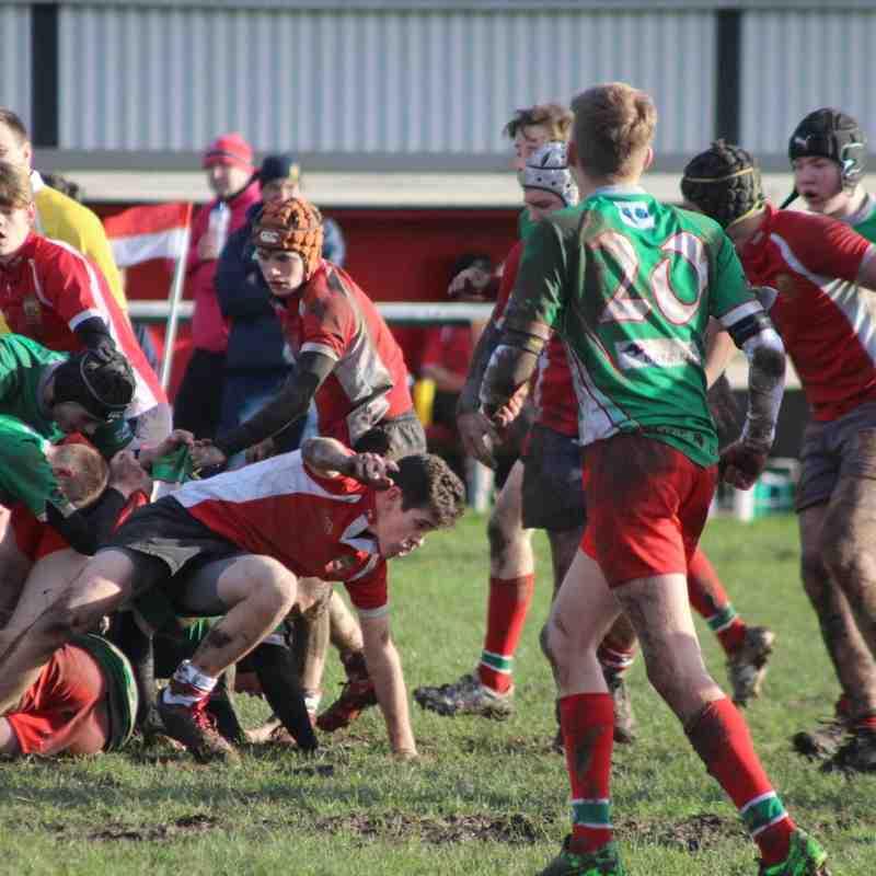 MRC U16s v Warrington