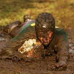 A wet and muddy welcome to 2016