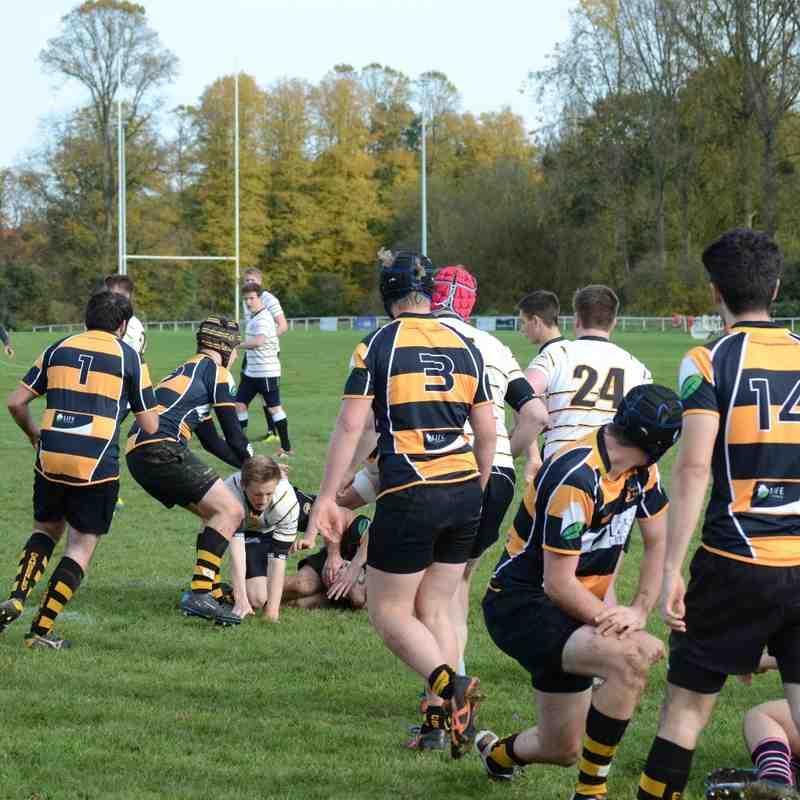 Academy Camberley vs Marlow - Oct 2015