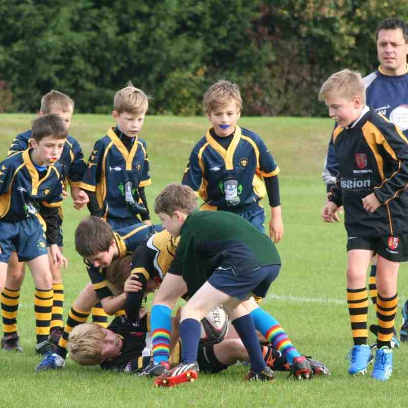 U10 v Droitwich 5th Oct 2014