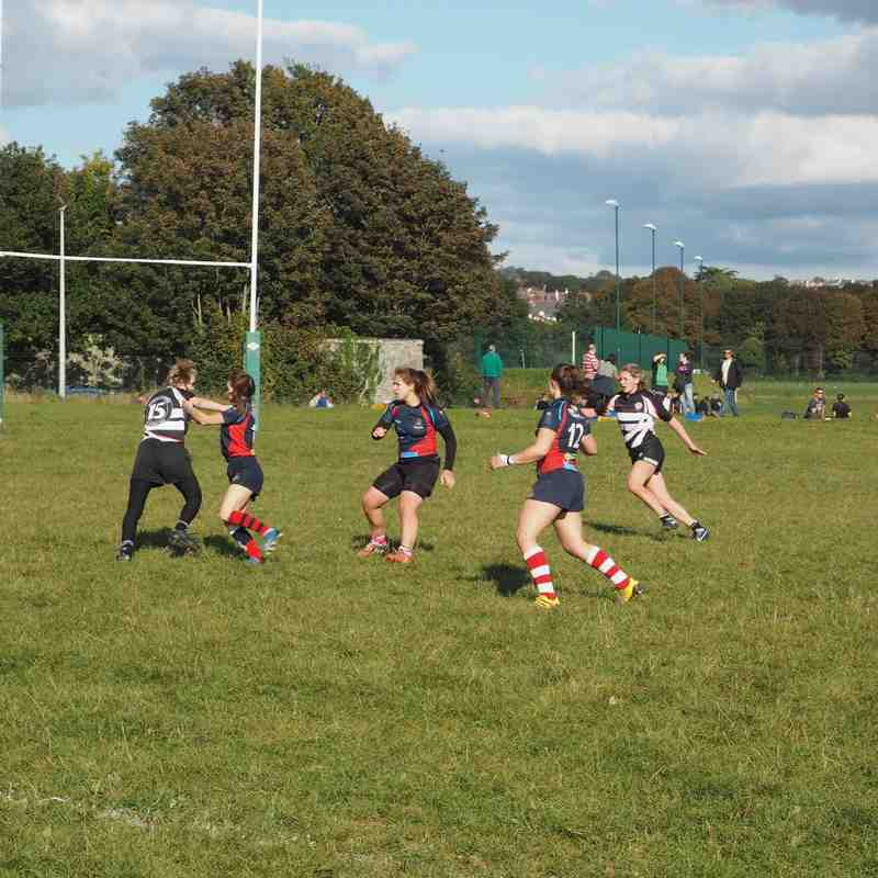 Devonport Services U18 Girls V Winscmbe 9-10-16