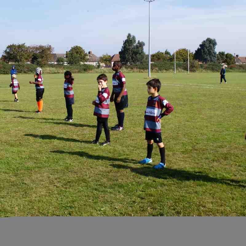 Barking RFC U9's V Wanstead RFC & Harlow RFC