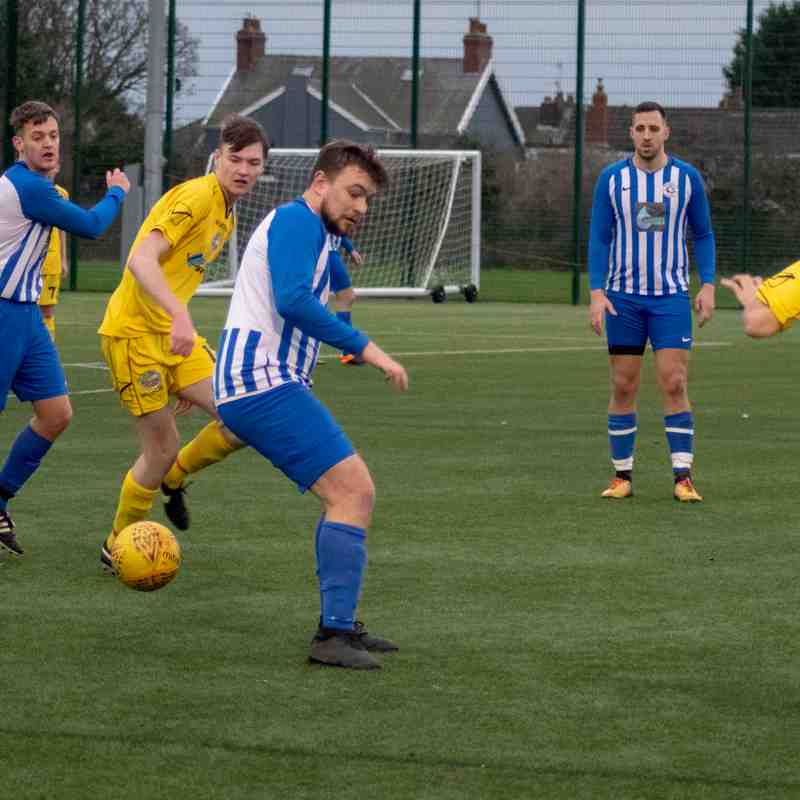 Anchorsholme vs Standish St Wilfrid's (05th January 2019)