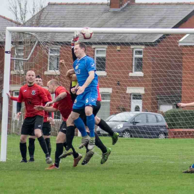 Freckleton FC 1st v Anchorsholme FC (12th January 2019)