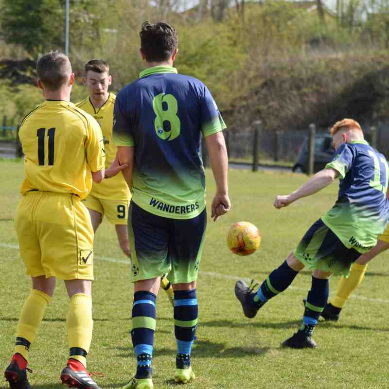 Preston Wanderers v Anchorsholme FC (13th April 2019)
