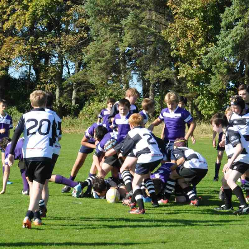 U-13 Edged Out in Thriller