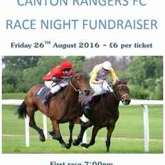 Canton Rangers Race Night