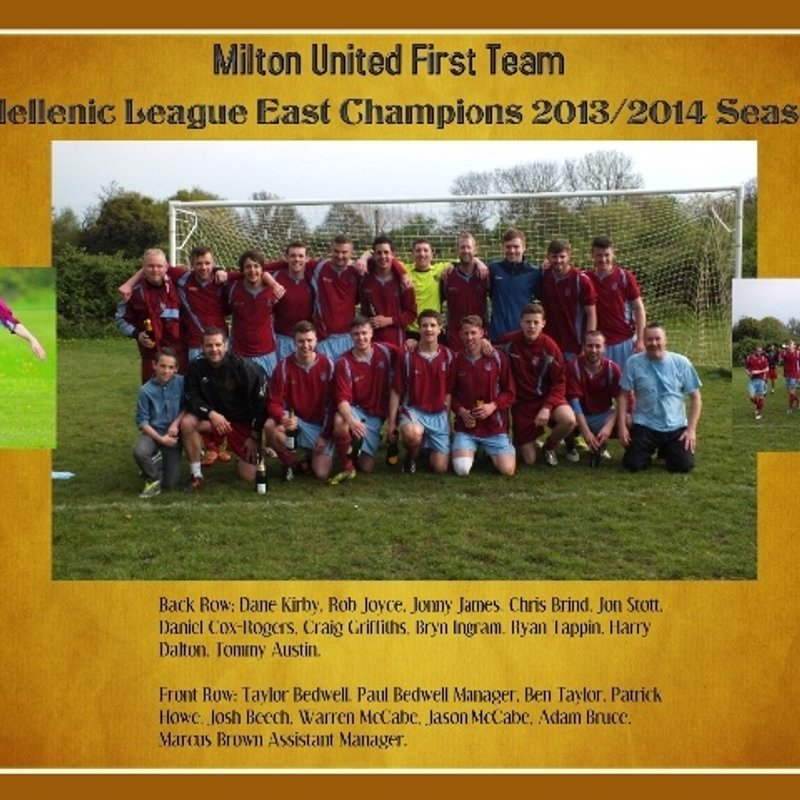 Milton United 1st Team beat Wantage Town Res 0 - 7