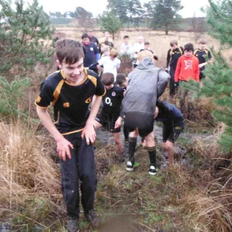 U14 Mud Run 2014