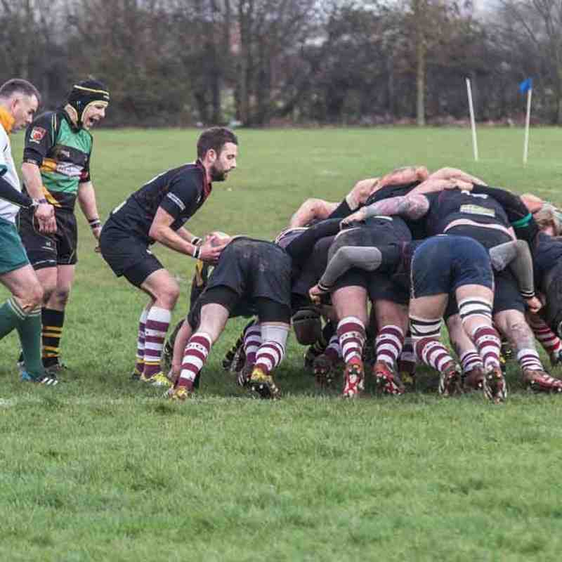 Deepings IXV (Green Machine )  v  Wallingborough O.G Sat. 23rd Jan 2016  -  (  27 - 19 )