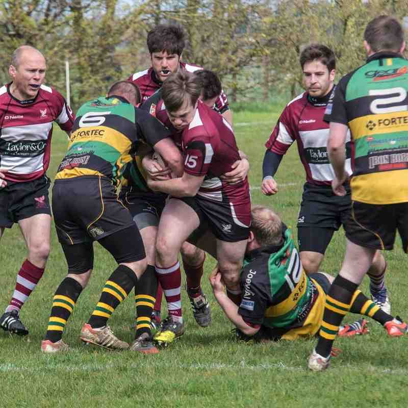 Deepings IXV (Green Machine )  v  Queens  Sat. 9th April  2016  -  ( 17 - 29 )