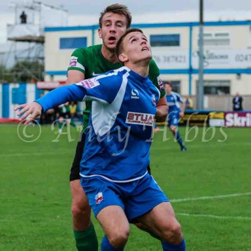 Nuneaton Town v Lincoln City 5th Oct by Andy Hibbs