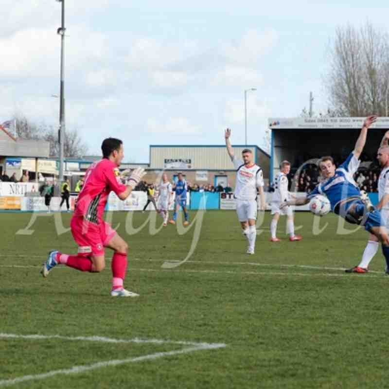 Nuneaton Town 0 - 5 Luton Town 22nd Feb by Andy Hibbs