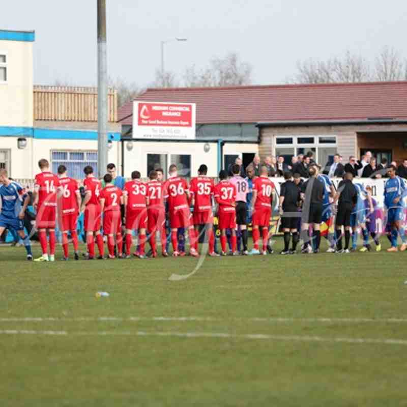 Nuneaton Town 2 - 0 Welling 8th March 2014 by Andy Hibbs