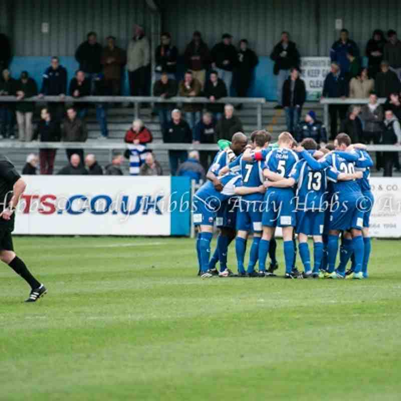 Nuneaton Town 0 - 1 Halifax 5th April 2014 by Andy Hibbs