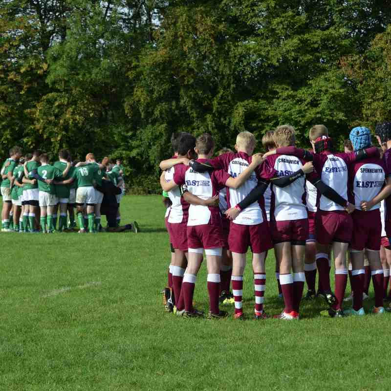 U14As vs London Irish