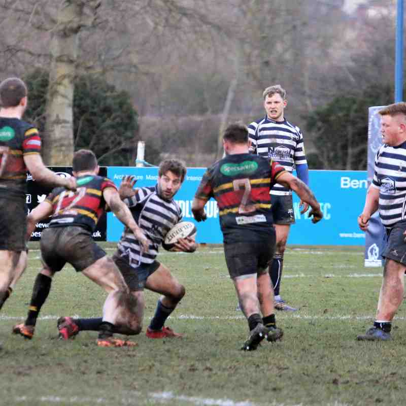 Newark 1st v West Bridgford 17.2.18