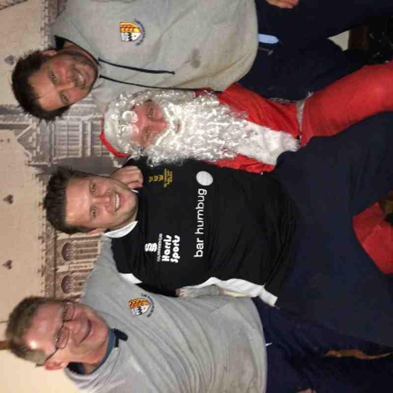 U14's coaches and Santa Christmas 2013