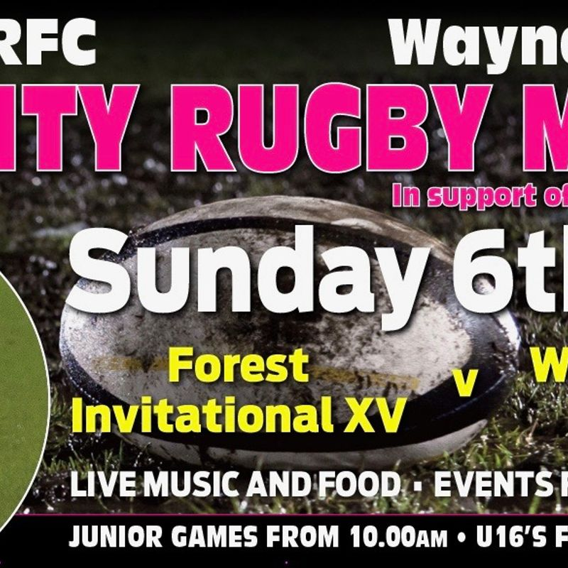Charity Day Sunday 6th May
