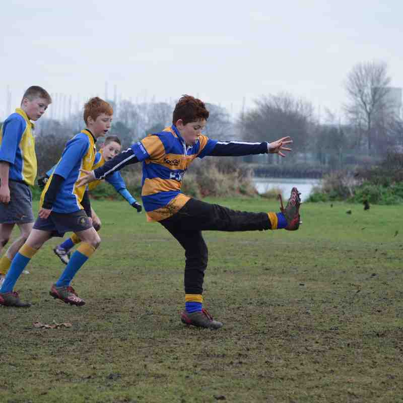 Saxons Training 04.01.15