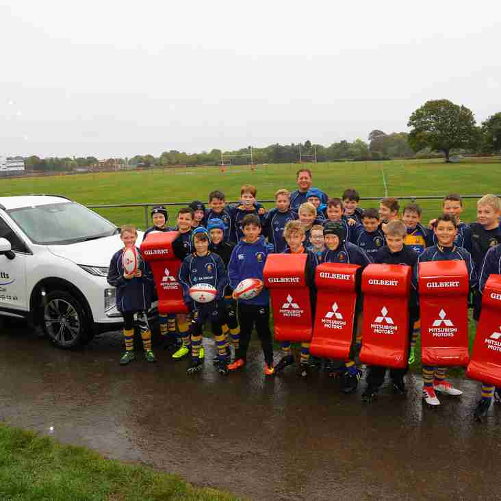 G&F are the first Club in the UK to benefit from Mitsubishi Motors promotion