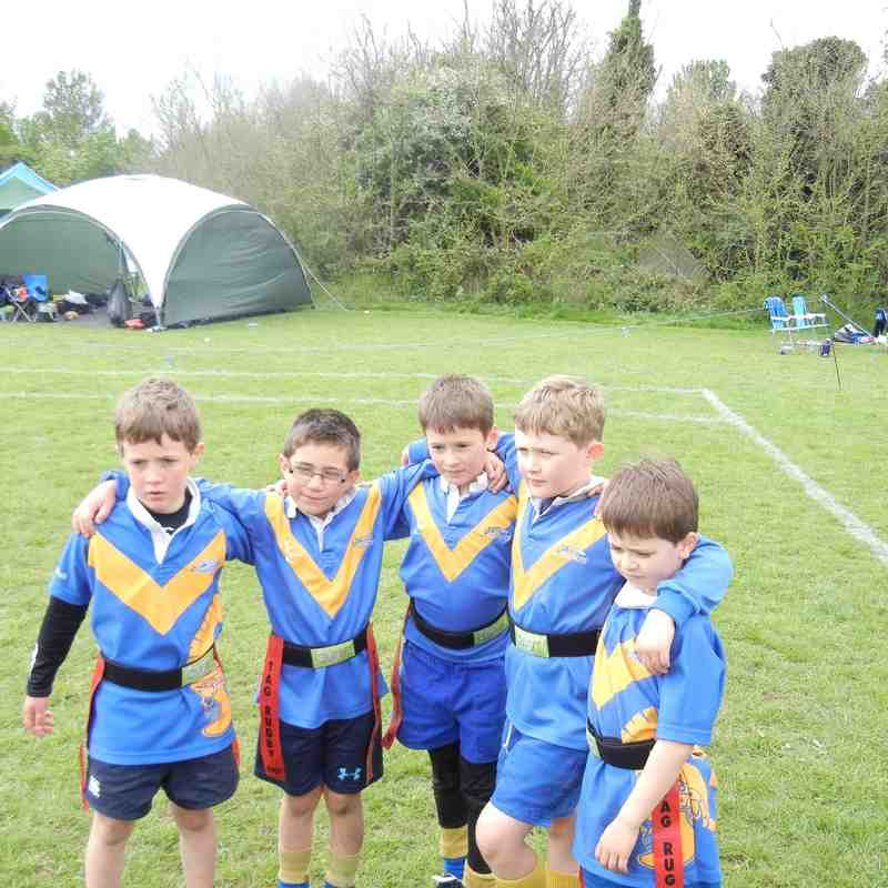 OVs under 7s at Hertford Tag Festival 2014