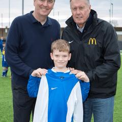 Sir Geoff Hurst visit