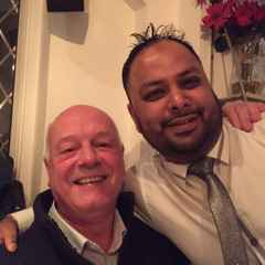 GREAT EVENING AT THE RAJPOOT INDIAN RESTAURANT ON SATURDAY NIGHT.