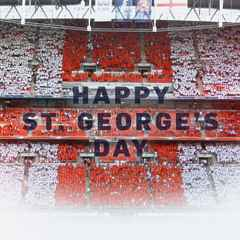 HAPPY ST. GEORGE'S DAY.