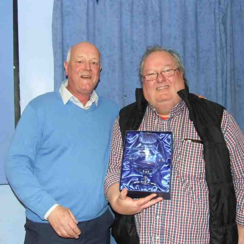 Chairman's Award recipient - Malcolm Boyes