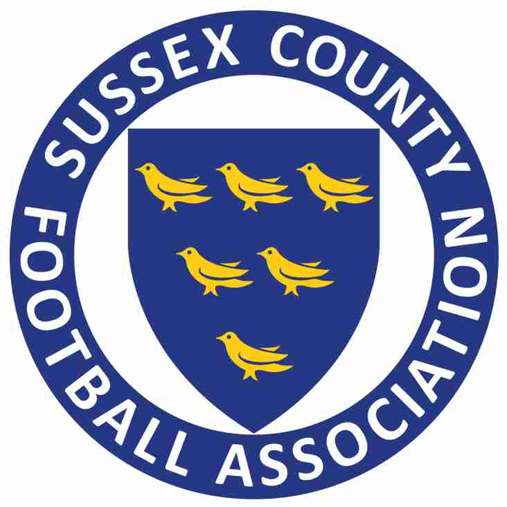 PARAFIX SUSSEX SENIOR CUP NEWS.