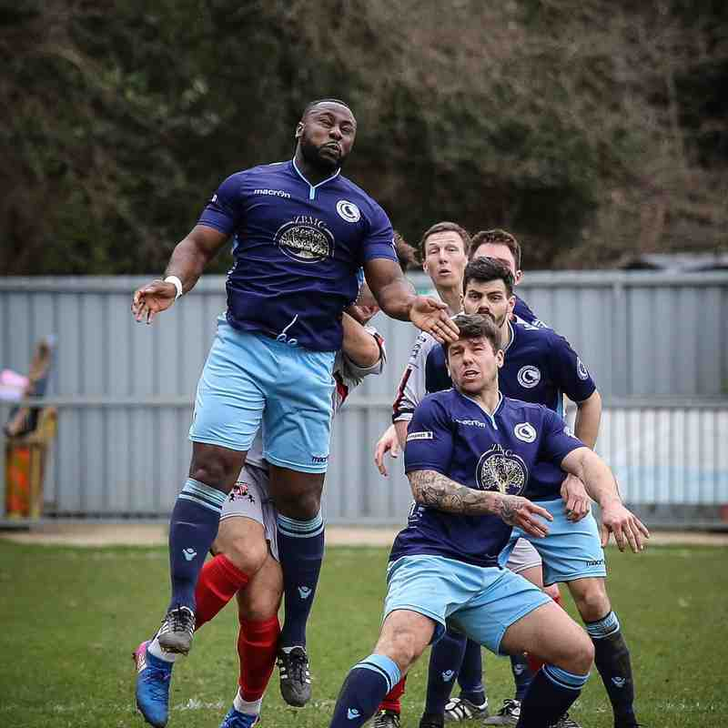 First v Rochester United - 18th March 2017, pictures courtesy of Craig Carrington.
