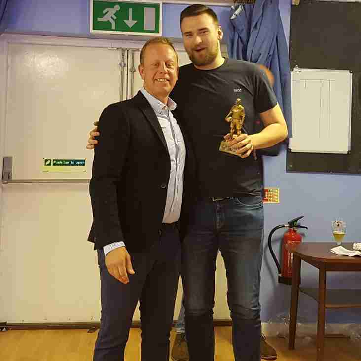 PRESENTATION NIGHT - SEASON 2016/17.