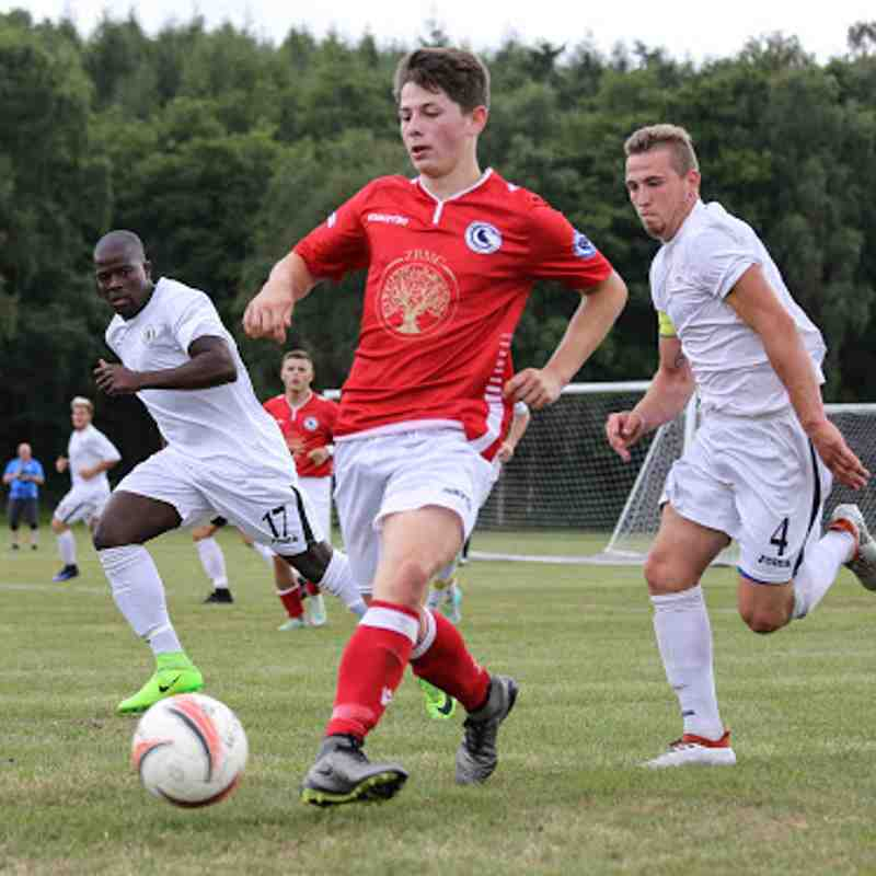 First v Haywards Heath Town - 15th July 2017, pictures courtesy of Craig Carrington.