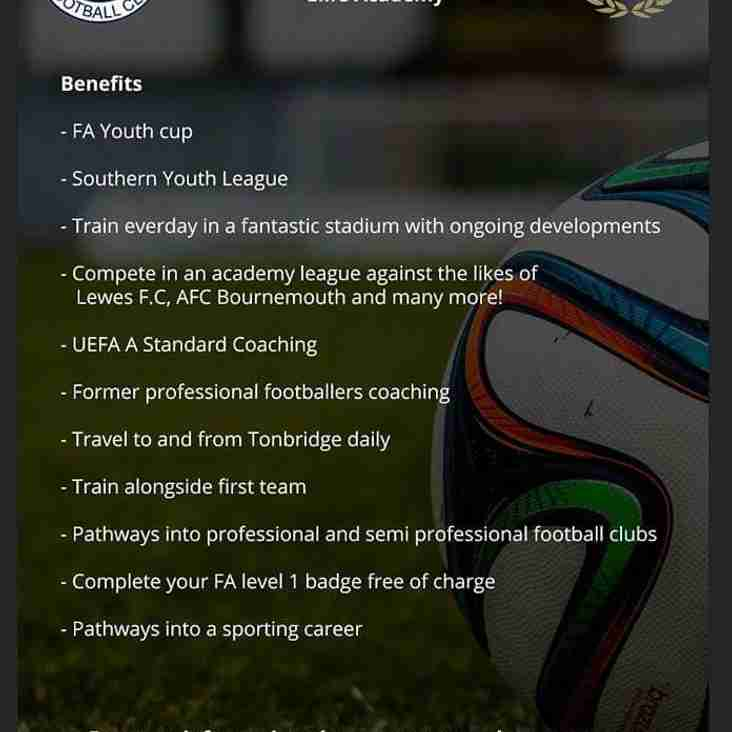 THE CAFC FOOTBALL AND EDUCATIONAL ACADEMY - INTERESTED?