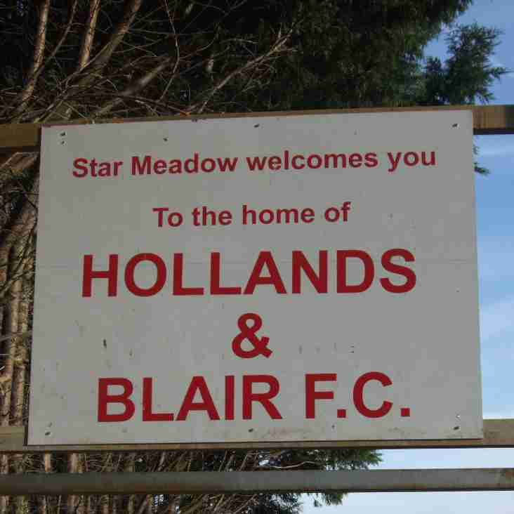 NEW MANAGER FOR HOLLANDS & BLAIR.