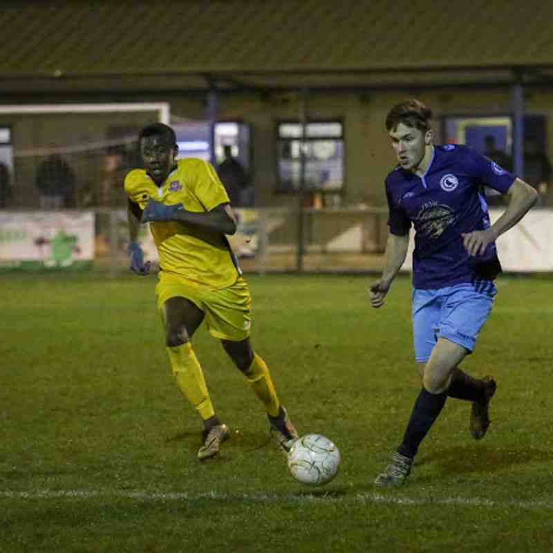First v AFC Croydon Athletic - 9th January 2018, pictures courtesy of Craig Carrington.
