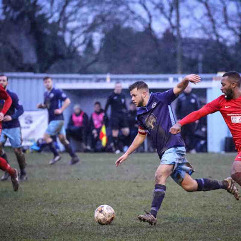 First v Beckenham Town - 3rd February 2018, pictures courtesy of Craig Carrington.