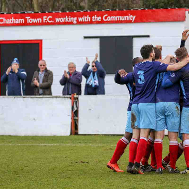 First v Chatham Town - 10th March 2018, pictures courtesy of Craig Carrington.