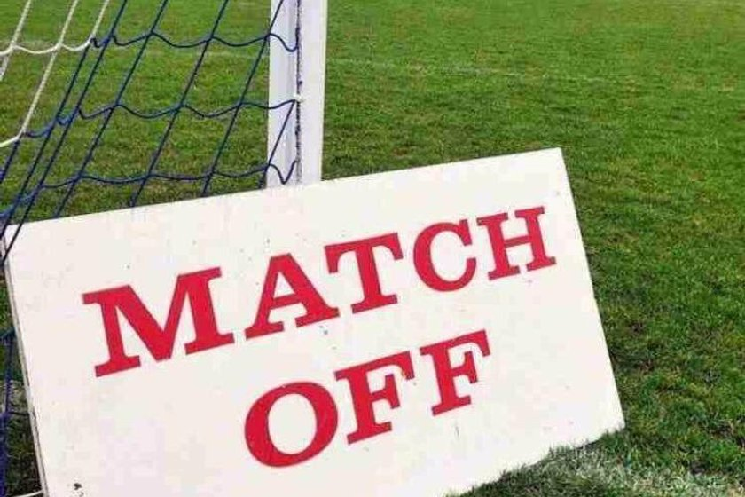 BEARSTED V CAFC - MATCH POSTPONED BY REFEREE.