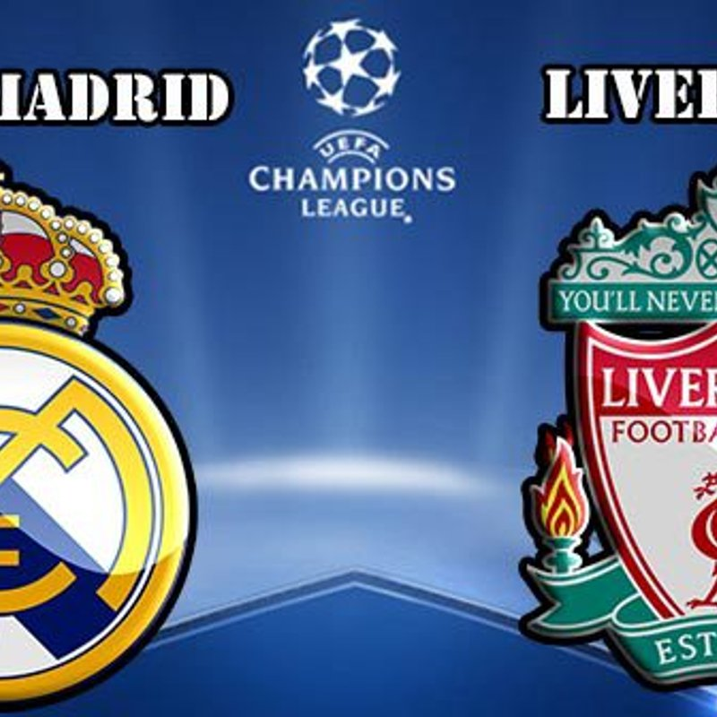 REAL MADRID V LIVERPOOL LIVE IN THE CLUBHOUSE.